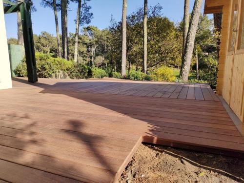 Terrasse en bois éxotique
