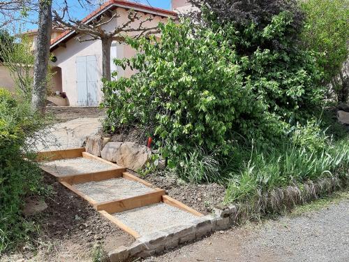 Escalier paysager